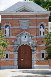 Belgium - famous Westmalle trappist monastery near Antwerpen