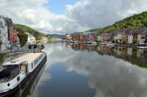 Dinant on the Meuse river