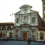 1996 Firenze church Ognissanti