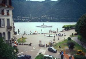 "2000 Lago di Como a Cernobio - dal balcone di ""Regina Olga"""