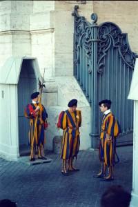 2001 Roma Vatican - guardia Svizzera