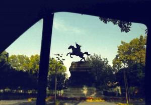 2001 Roma - Monumento equestre a Anita Garibaldi