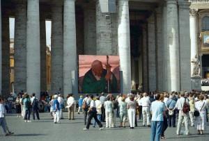 2001 Roma, Piazza San Pietro