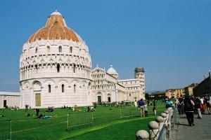 2003 Pisa - Baptiseria, Duomo e Campanella