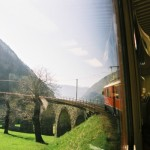 2003 Bernina express - viadotto di Brusio