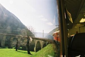 2003 Bernina express - viadotto di Brusio
