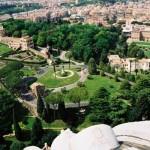 2003 Roma - giardini Vaticani