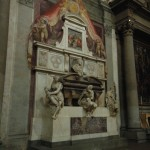 2005 Firenze - Santa Croce - la tomba di Michel-Angelo