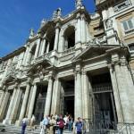 2005 Roma - Santa Maria Magiore l'ingresso