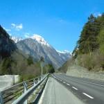 2007 Courmayeur - tornare sulla strada nazionale