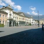 "2007 Aosta - ""Place Charles Albert"" il Municipio"