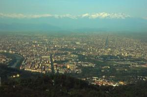 2007 Torino - la panorama vista da Superga