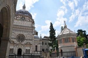 2010 Bergamo - il Duomo e la Baptisteria