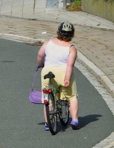Biciclista de la Gossweinstein
