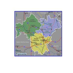 Franconian map