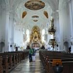 Gößweinstein's Pilgrimage cathedral interior