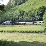 steam tourist train