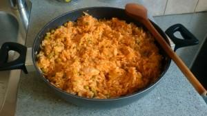 Pilaf de orez cu carne de pui FB